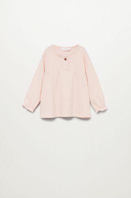 Mango Kids - Bluza de bumbac pentru copii Brillo7 80-104 cm
