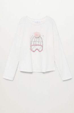 Mango Kids - Detské tričko s dlhým rukávom SNOW