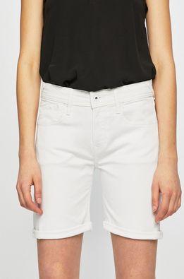 Pepe Jeans - Rifľové krátke nohavice