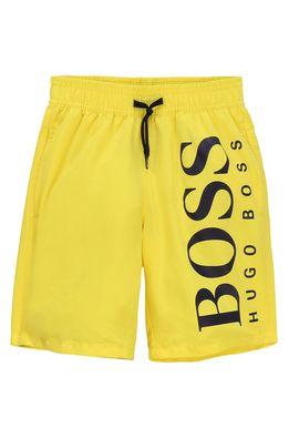Boss - Dětské plavkové šortky 164-176 cm