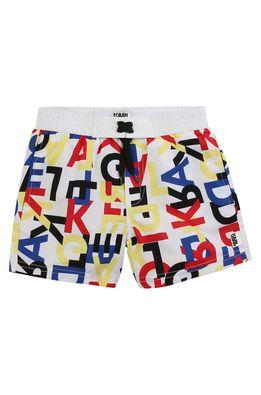 Karl Lagerfeld - Dětské plavkové šortky 162-174 cm
