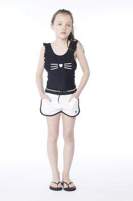 Karl Lagerfeld - Dětské plavky 114-150 cm