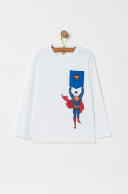 OVS - Longsleeve copii x Superman 104-134 cm