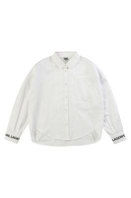 Karl Lagerfeld - Dětská košile 156-162 cm