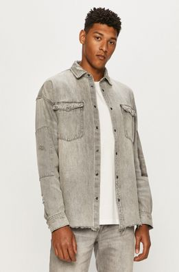 AllSaints - Camasa jeans Solara