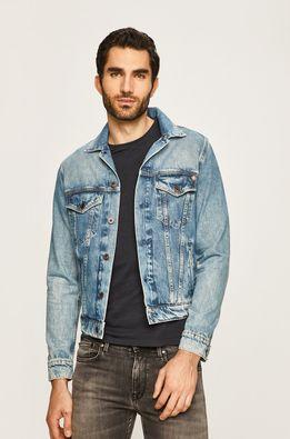 Pepe Jeans - Rifľová bunda Pinner