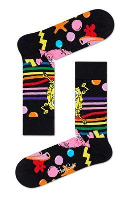 Happy Socks - Sosete Bubble In Paradise x Sponge Bob