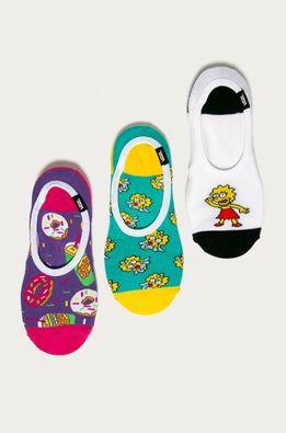 Vans - Členkové ponožky x The Simpsons (3-pak)