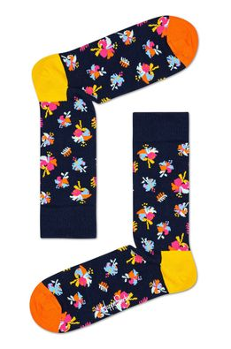 Happy Socks - Zokni Hibiscus