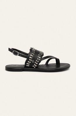 Pepe Jeans - Kožené sandále March Studs