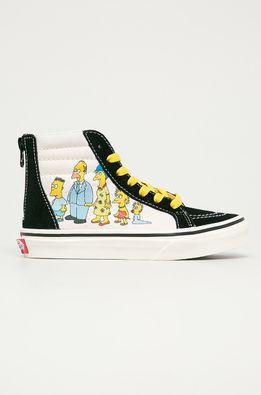 Vans - Детски високи кецове x The Simpsons