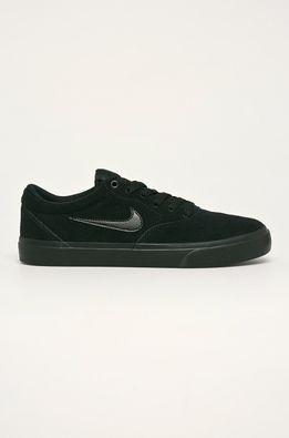 Nike - Kožená obuv SB CHARGE SUEDE