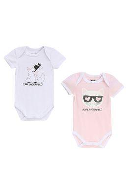 Karl Lagerfeld - Body pre bábätká 60-81 cm (2-pak)