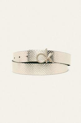 Calvin Klein - Obojstranný kožený opasok