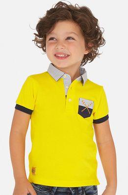 Mayoral - Tricou polo copii 92-134 cm