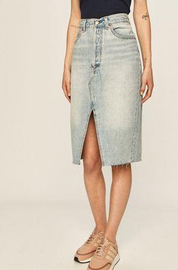 Levi's - Rifľová sukňa
