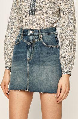 Pepe Jeans - Rifľová sukňa Rachel Archive