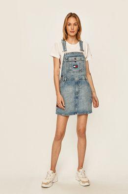 Tommy Jeans - Rifľové šaty