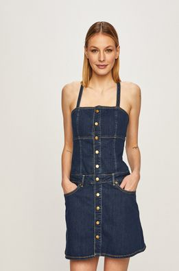 Pepe Jeans - Rochie jeans Flame