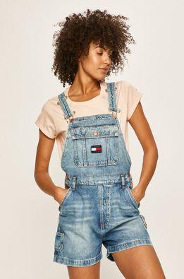 Tommy Jeans - Rifľové krátke nohavice