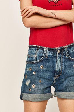 Pepe Jeans - Džínové šortky Mary Short Revire