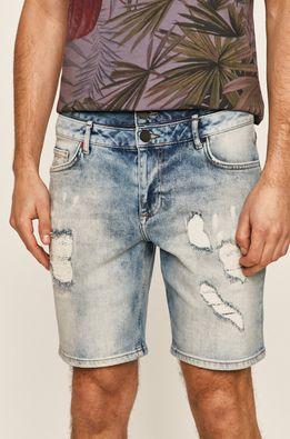 Desigual - Rifľové krátke nohavice