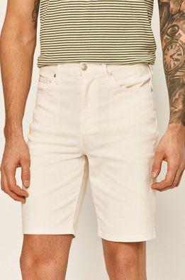 Calvin Klein - Rifľové krátke nohavice