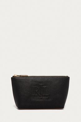 Lauren Ralph Lauren - Kožená kosmetická taška
