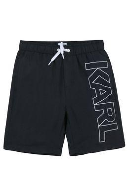 Karl Lagerfeld - Dětské plavkové šortky
