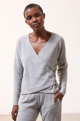Etam - Pyžamové tričko s dlouhým rukávem LAURYL