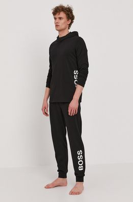 Boss - Pyžamové tričko s dlouhým rukávem