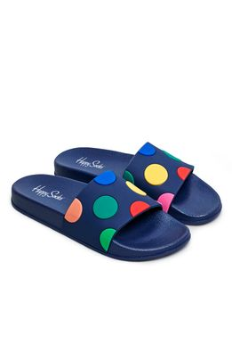 Happy Socks - Шльопанці Pool Slider Dot