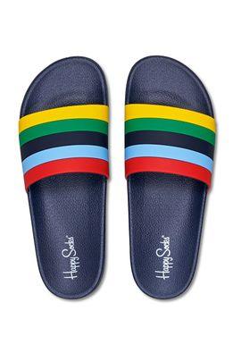 Happy Socks - Шльопанці Pool Slider Stripe