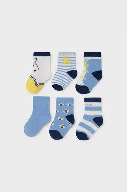 Mayoral Newborn - Detské ponožky (6-pak)