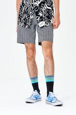 Happy Socks - Sosete Colour Cuff 3/4 Crew