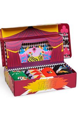 Happy Socks - Шкарпетки Circus Socks Gift Set (4-PACK)
