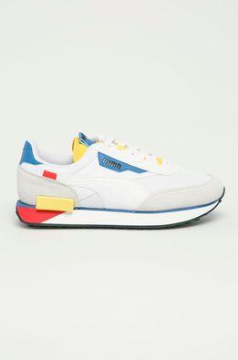 Puma - Dětské boty Futere Rider Neon Play