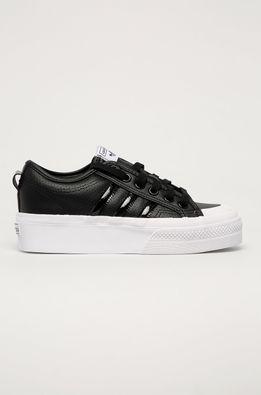 adidas Originals - Kožená obuv Nizza Platform