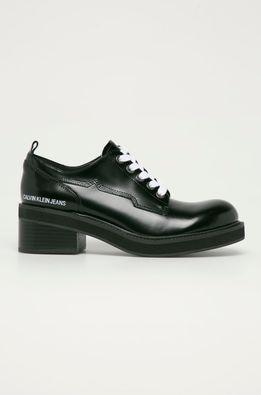 Calvin Klein Jeans - Кожени половинки обувки