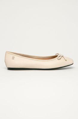 Tommy Hilfiger - Bőr balerina cipő