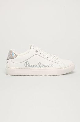 Pepe Jeans - Kožená obuv Adams Brand