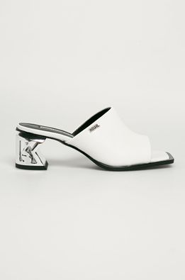 Karl Lagerfeld - Bőr papucs