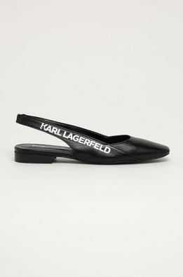Karl Lagerfeld - Balerini de piele