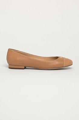 Lauren Ralph Lauren - Bőr balerina cipő