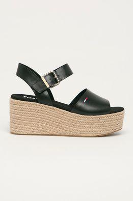 Tommy Jeans - Кожаные сандалии