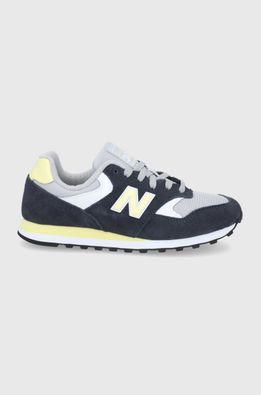 New Balance - Kožené boty WL393VS1