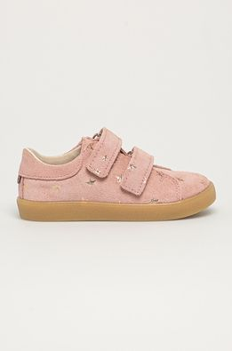 Mrugała - Детски половинки обувки от велур