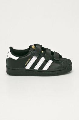 adidas Originals - Дитячі шкіряні кросівки Superstar CF