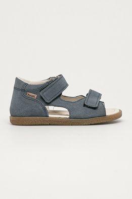 Mrugała - Дитячі замшеві сандалі з колекції присвяченої 10-річчю ANSWEAR