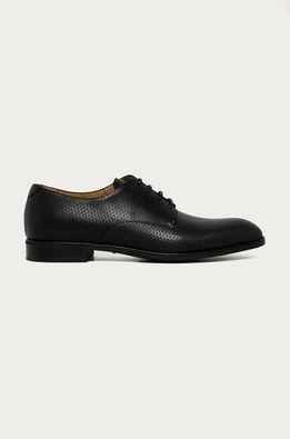 Emporio Armani - Кожени половинки обувки